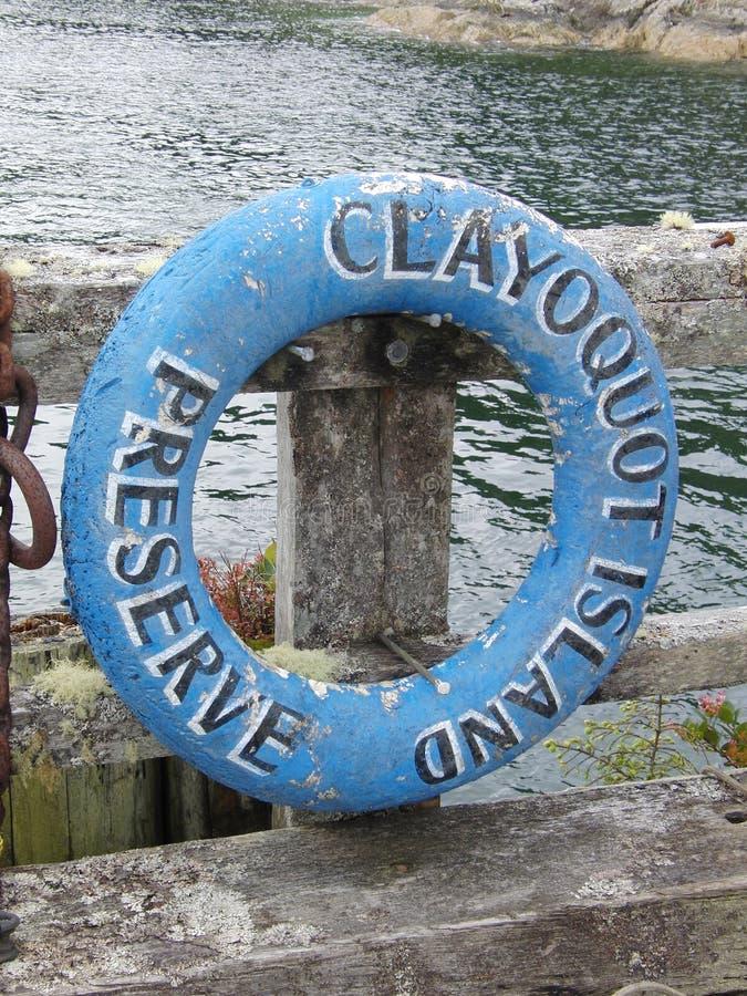Clayoquot Island Preserve royalty free stock image