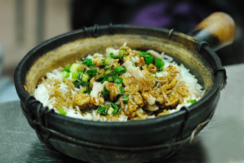 Claypot Rice royalty free stock photos