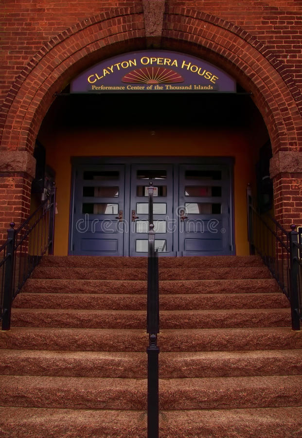 Clayton Opera House immagine stock