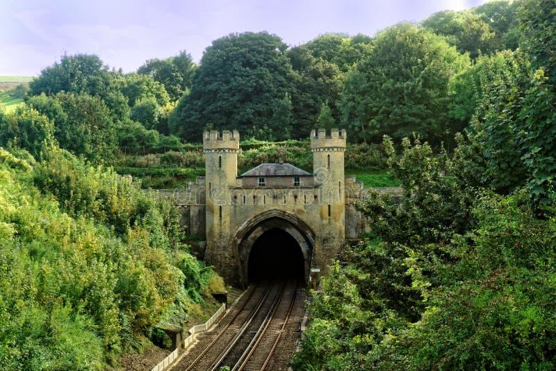 Clayton Railway Tunnel fotografia stock