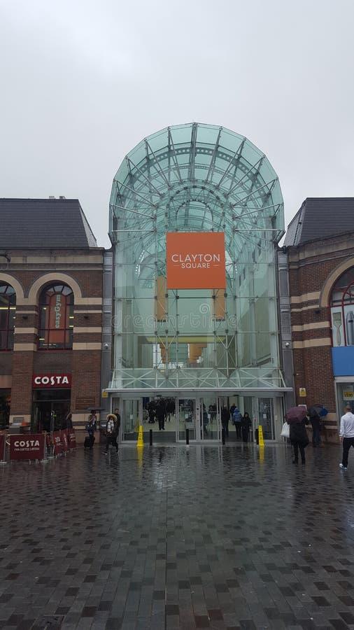 Clayton Square royalty-vrije stock fotografie