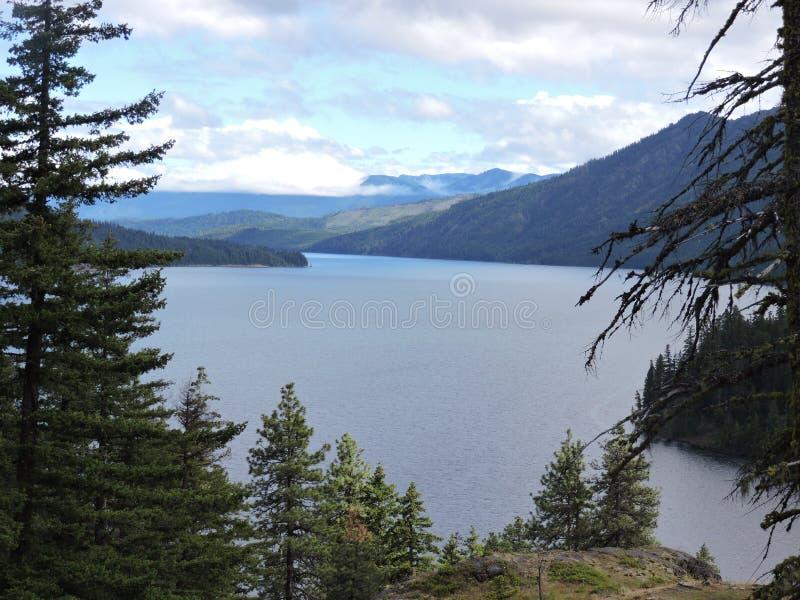 Cle elum lake hike stock photography