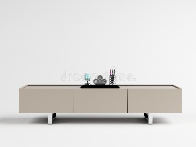 CLEA – TV Cabinet 01 stock photos