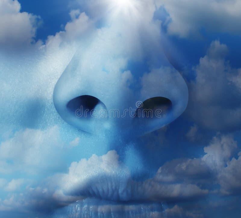 Clean Air vector illustration