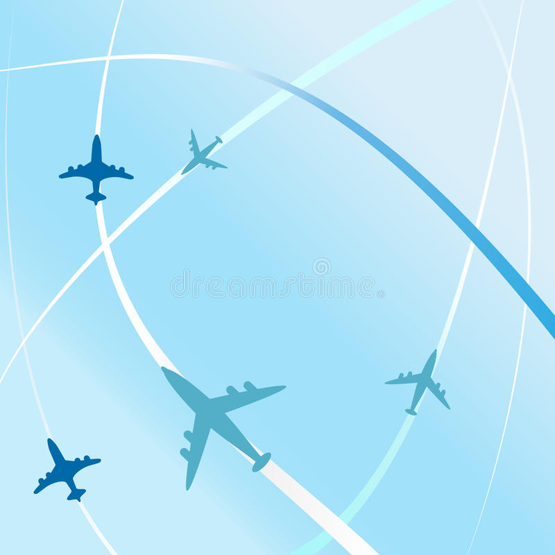 Clean air travel background design vector. Illustration design vector illustration