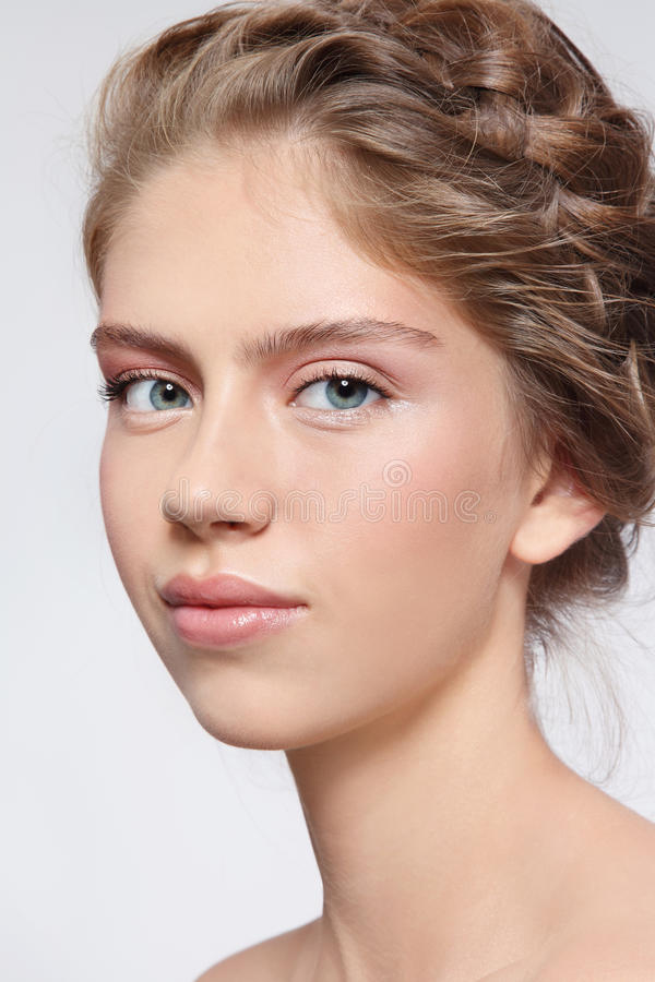 Clean beauty stock image