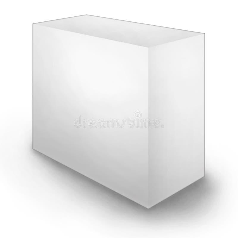 Clean Blank Box stock illustration