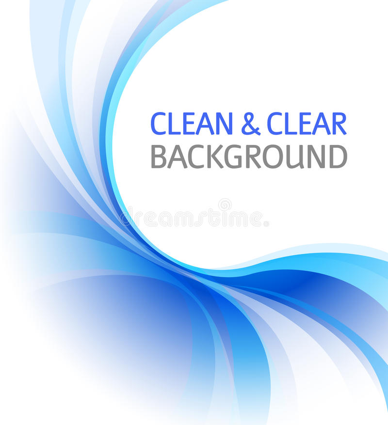 Clean blue business background vector illustration