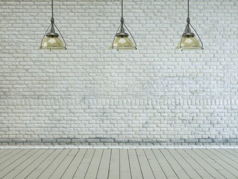 Clean bright empty room interior design royalty free stock photos
