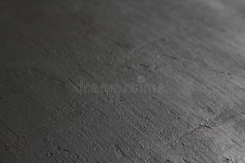 Clean chalk board surface. Black board with a metallic sheen. Metallic background. Empty Black Background for Design. Black stock image