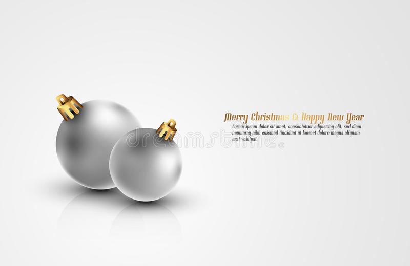 Download Clean Christmas Background stock vector. Image of golden - 22305113