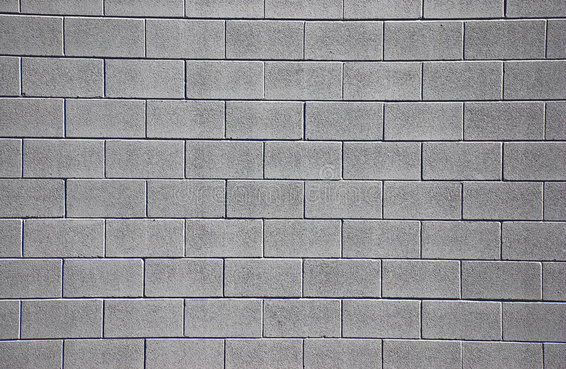 Clean Cinderblock Wall vector illustration