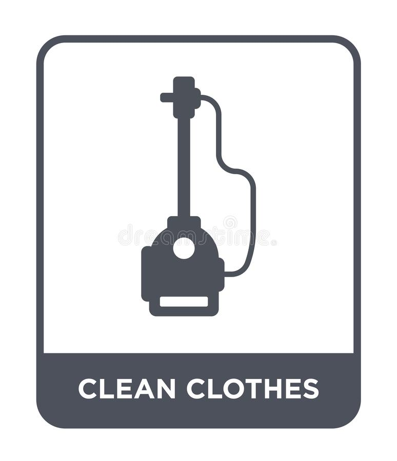Clean clothes icon in trendy design style. clean clothes icon isolated on white background. clean clothes vector icon simple and. Modern flat symbol for web vector illustration