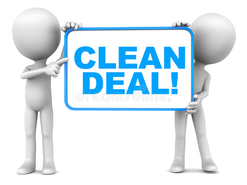 Clean Deal Stock Photos