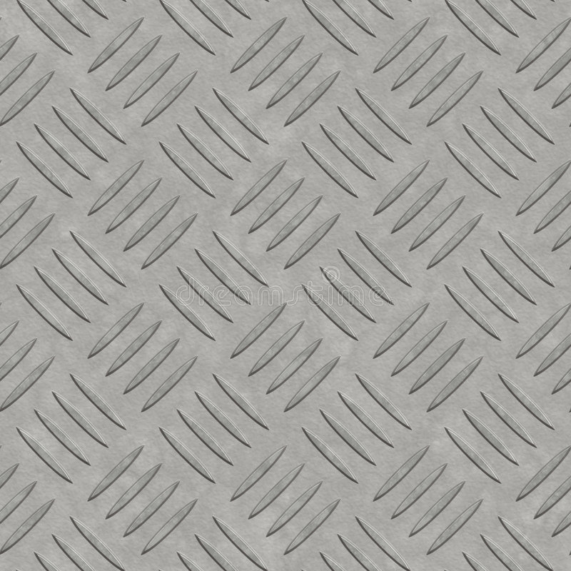Clean diamond plate big royalty free stock images