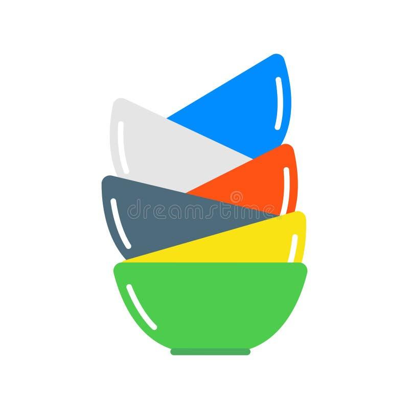 Download Clean Dishware Vector Illustration. Stock Vector - Image: 83721313