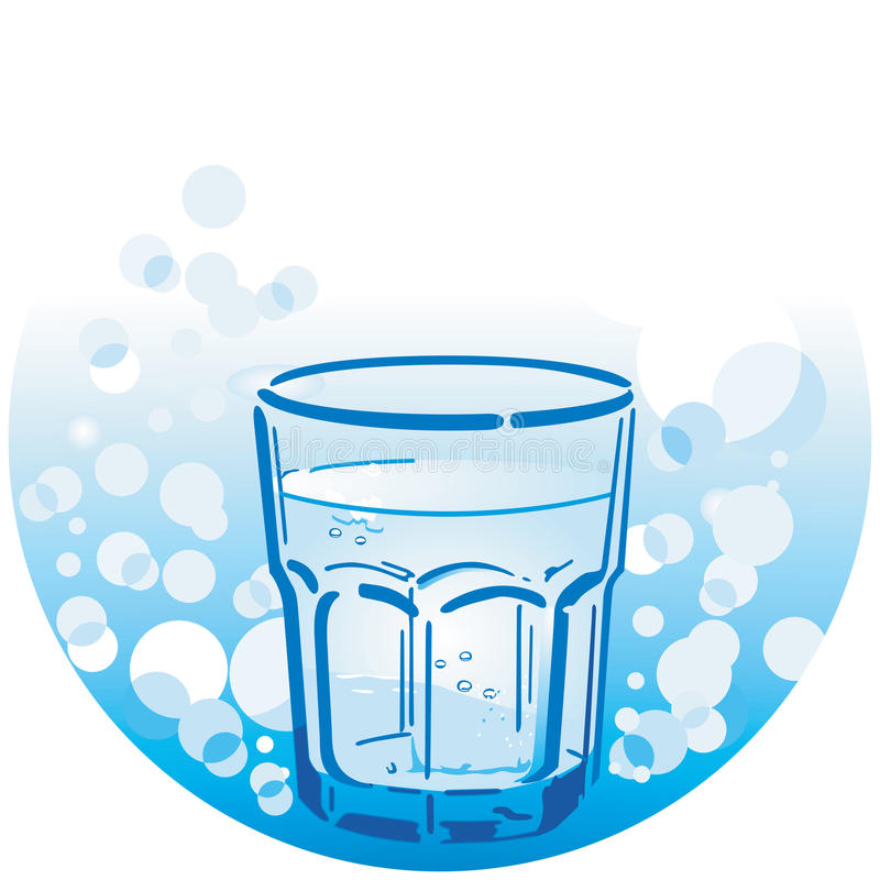 Download Clean drinking water stock vector. Image of environment - 23962687