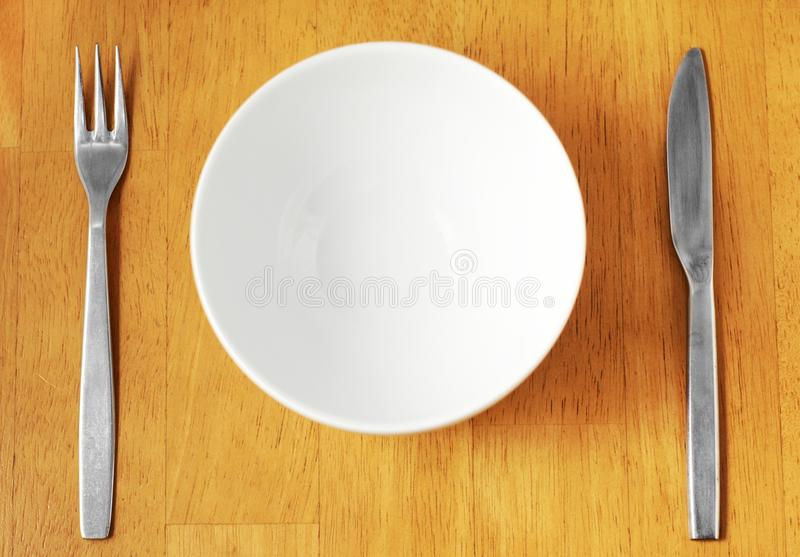 Download Clean, Empty White Bowl. stock photo. Image of food, dishware - 13022622