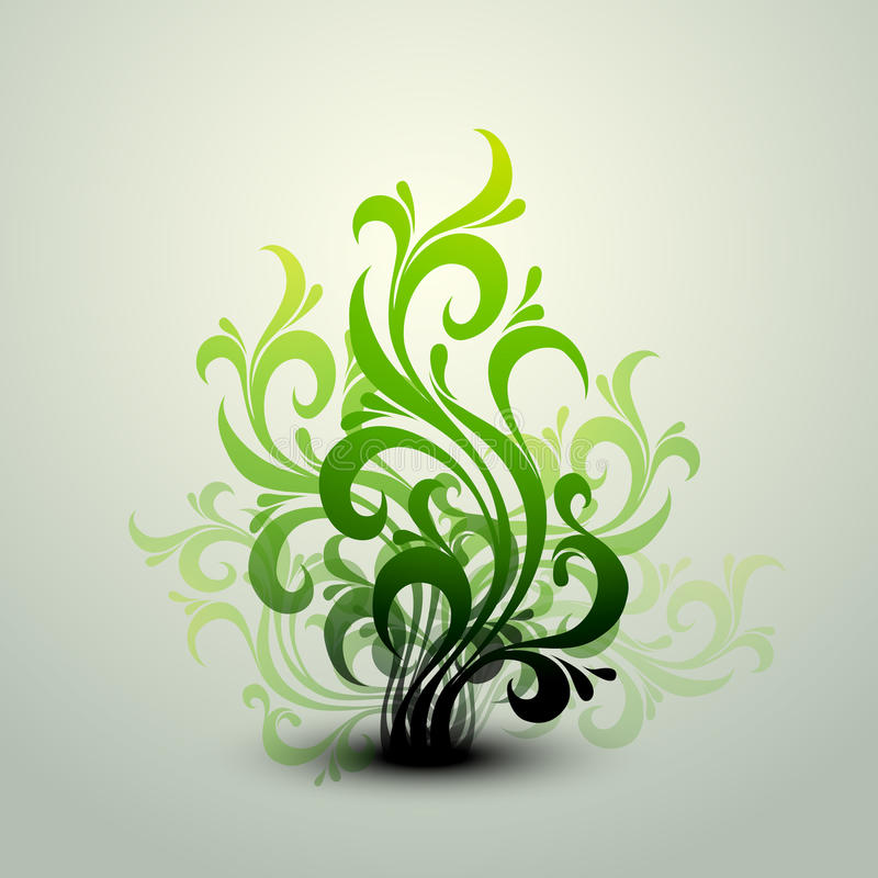 Download Clean Floral Vector Background Stock Photography - Image: 16898392