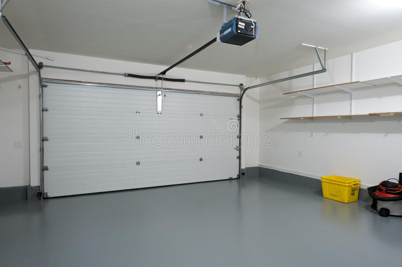 Clean garage stock images