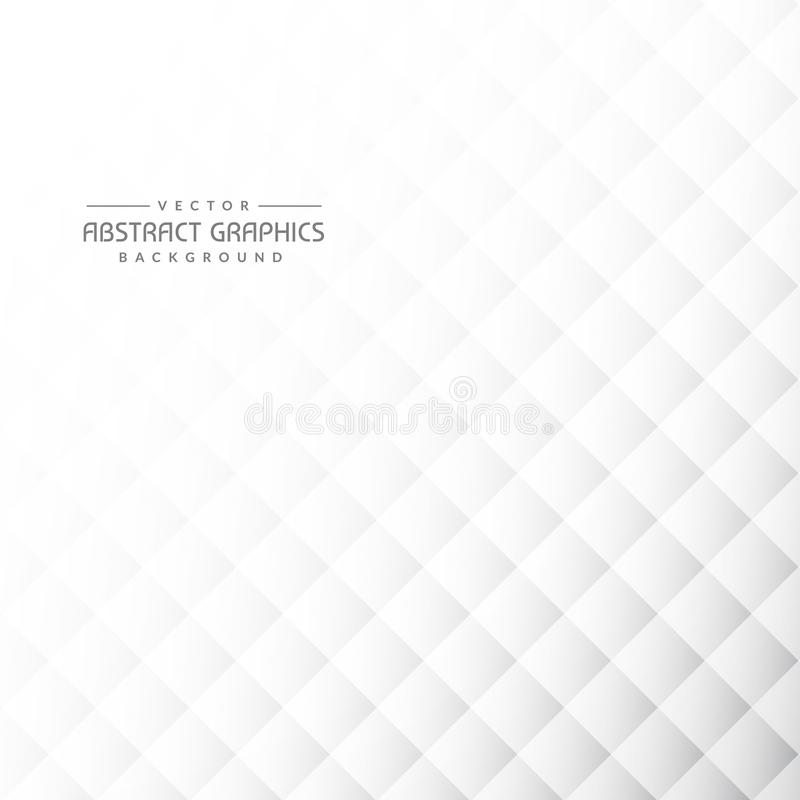 Clean gray abstract background with geometric shapes. Vector royalty free illustration