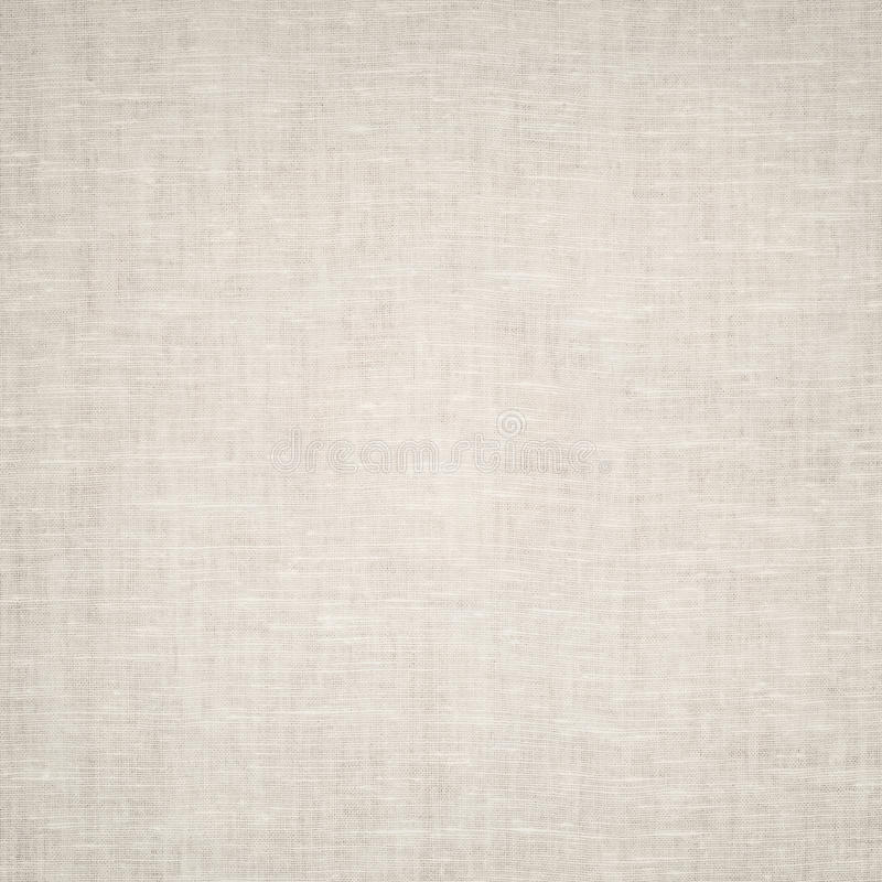 Clean gray burlap texture. Woven square fabric.  stock photography