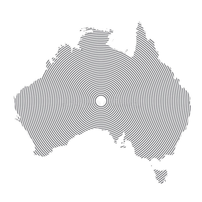 download clean gray wave map of australia isolated on white background blank map of australia