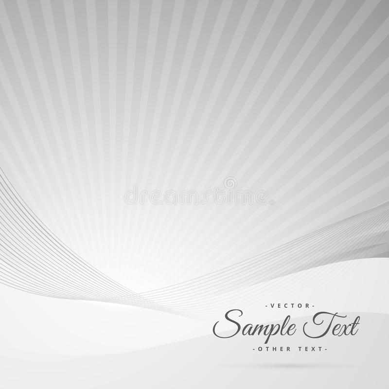 Clean gray white background with space for your text vector illustration