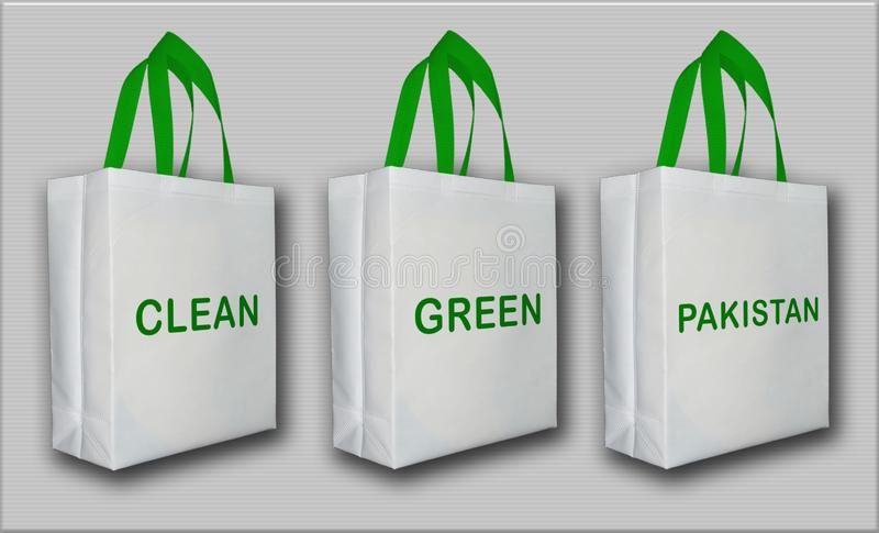 Clean, Green, Pakistan, Non Woven Eco Friendly Bag. Clean Green Pakistan Non Woven Eco Friendly Bags Pakistan Manufacturers of Non Woven Bags, background stock images