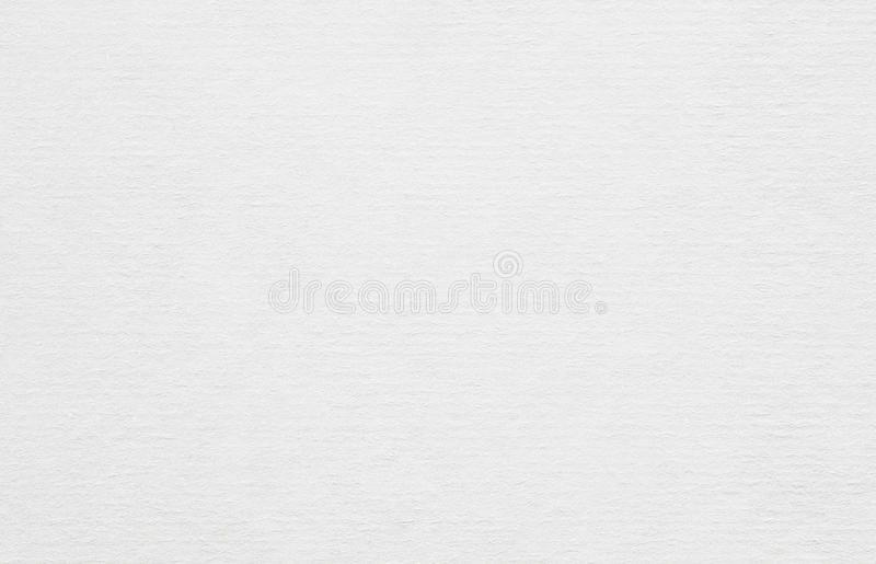 Clean horizontal recycled white paper texture or background royalty free stock images