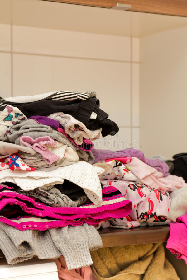 Download Clean laundry stock image. Image of shirt, colorful, garment - 24572309