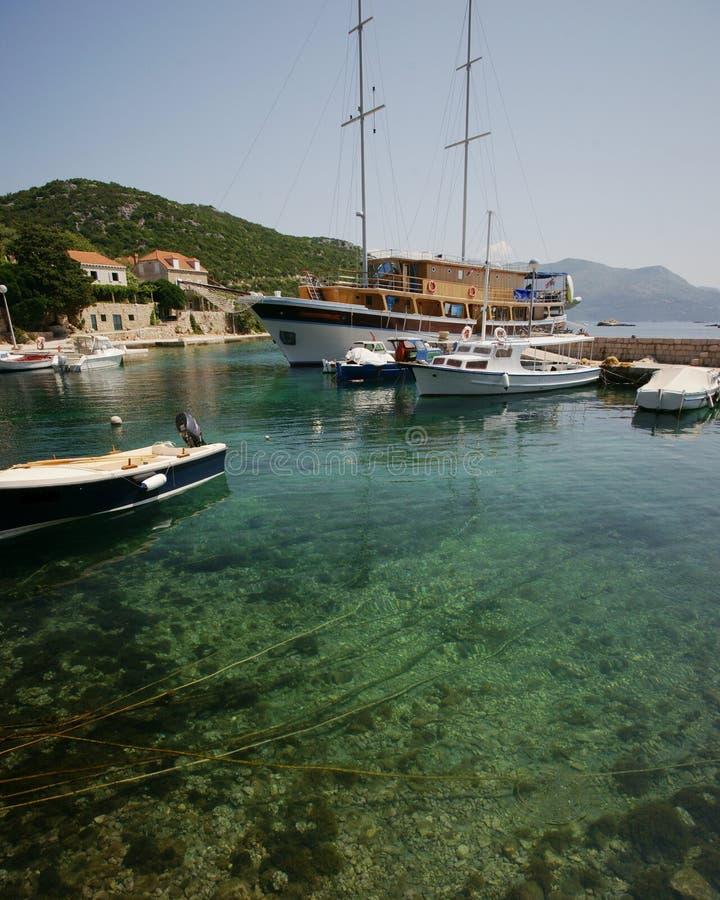 Download Clean Meditrerranean stock photo. Image of croatian, croatia - 14861816