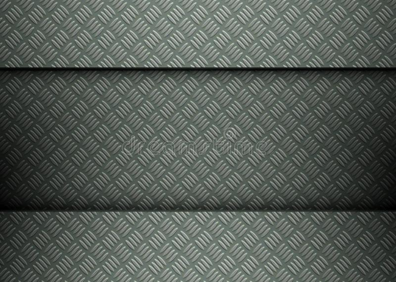 Download Clean Metal Template Background Stock Illustration - Image: 23481850