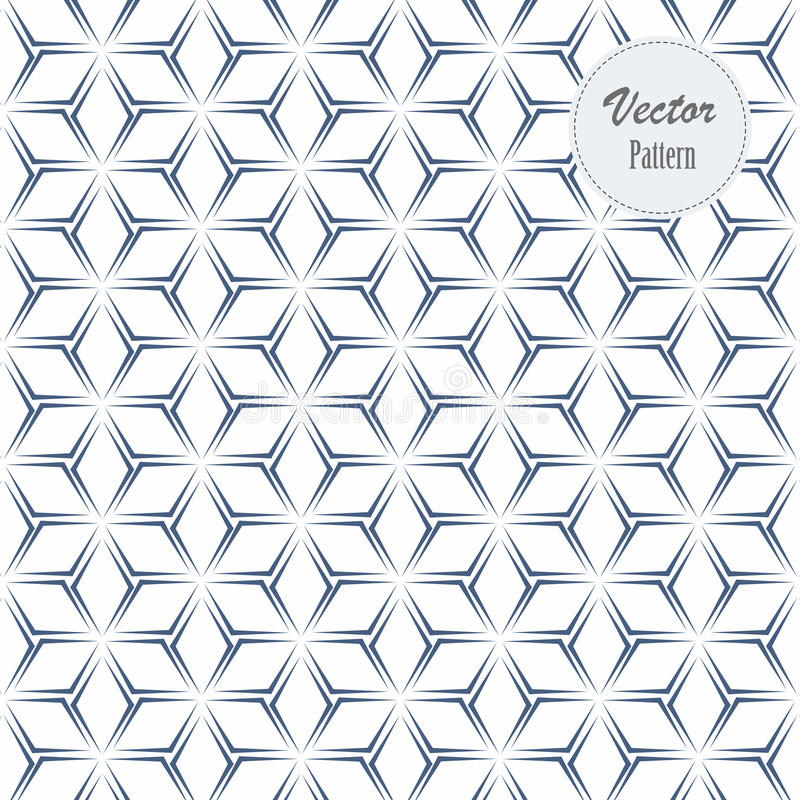 Clean minimal geometric pattern background vector illustration