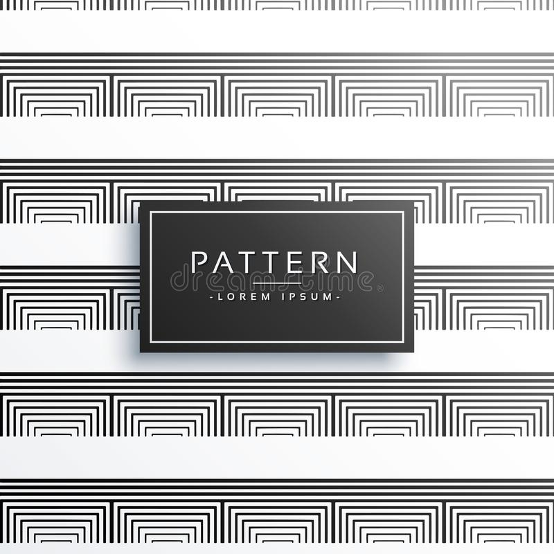 Clean minimal lines pattern vector design vector illustration