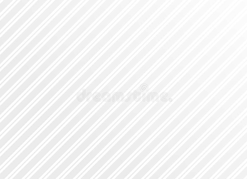 Clean minimal white stripes vector pattern background. Illustration royalty free illustration