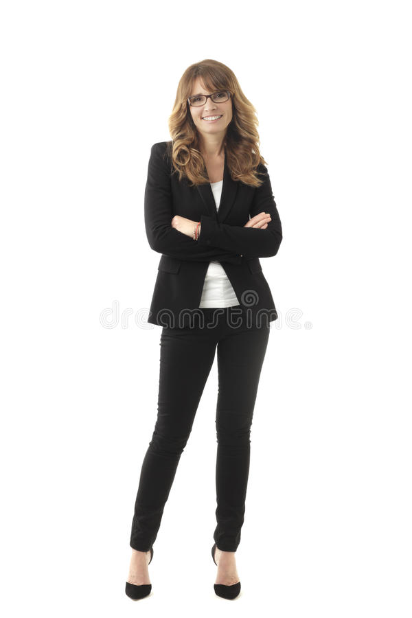 Modern Professional Businesswoman stock images