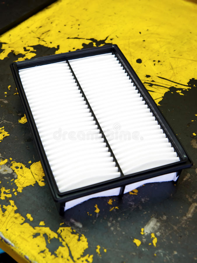 Download Clean Motor Vehicle Air Filter Stock Photo - Image of workshop, service: 56783406
