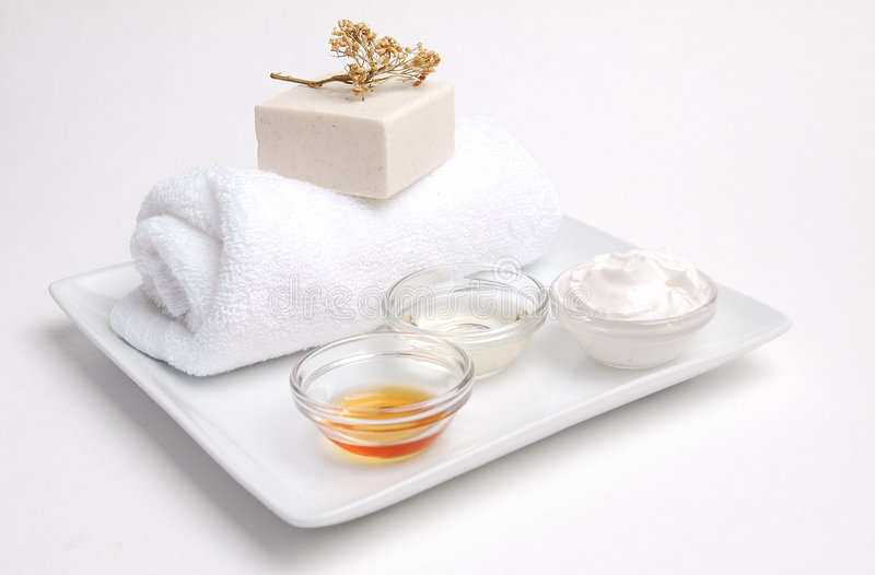 Download Clean and Natural Spa stock image. Image of moisturizer - 453279