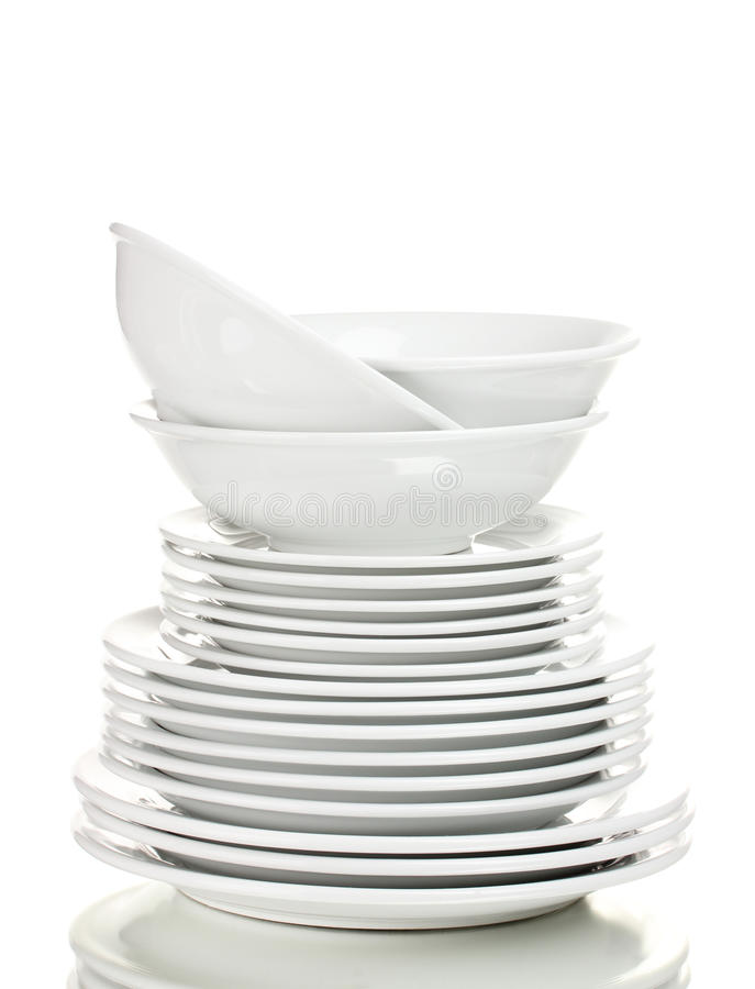 Download Clean plates stock photo. Image of home, sample, shiny - 22935956