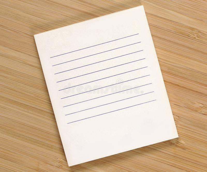 Clean shopping list stock images