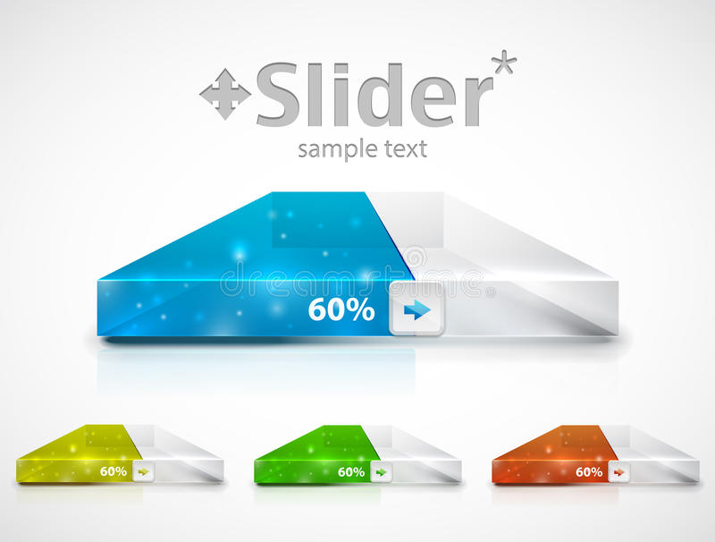 Clean slider / progress bar