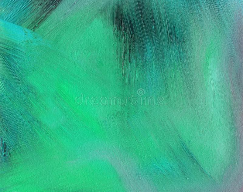 Clean and solid background with rough texture. Oil painting. Clean and solid background with rough texture of brush strokes stock illustration