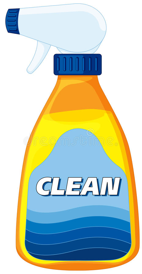 Clean Solution Stock Image