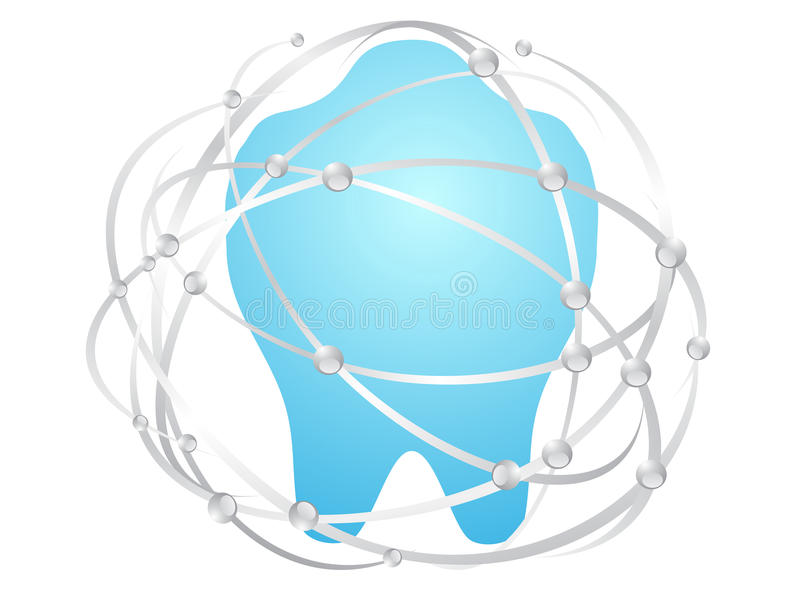 Download Clean teeth stock vector. Image of disease, anatomy, gloss - 25348905