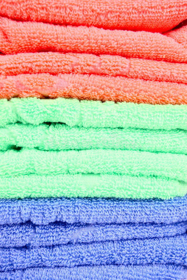 Download Clean towels stock photo. Image of blue, color, cotton - 17680102