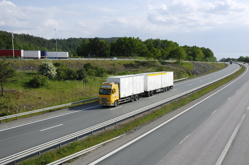 Download Clean Trucking In The Country Stock Image - Image: 2656489