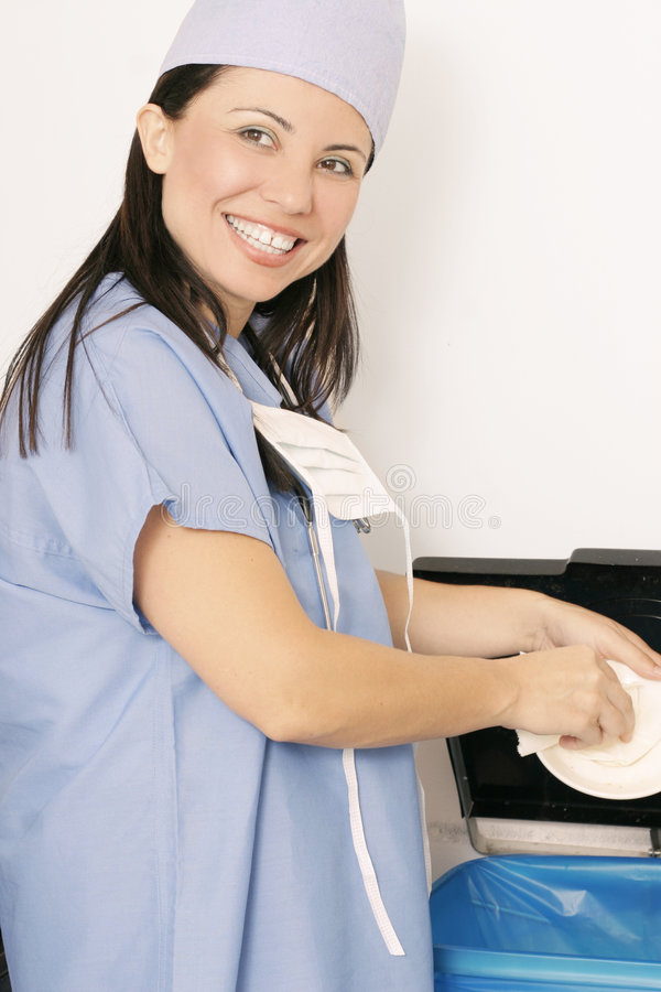 Download Clean up 2 stock photo. Image of doctor, people, practitioner - 466068
