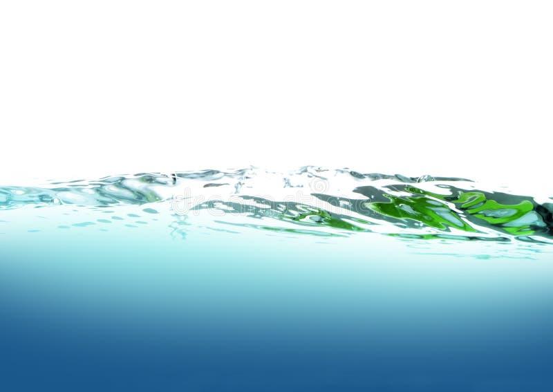 clean vatten royaltyfri illustrationer