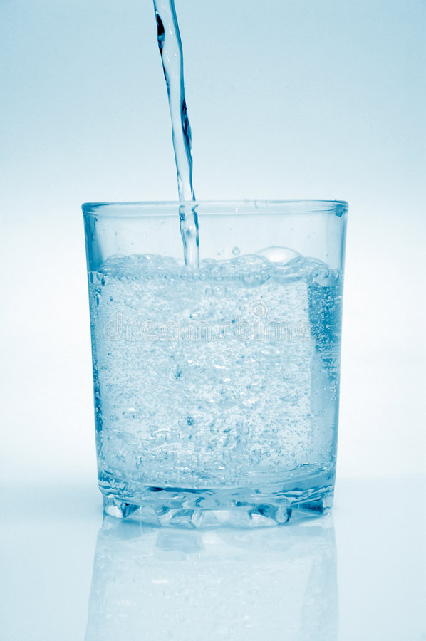 Download Clean water stock image. Image of clean, filling, isolated - 2761035